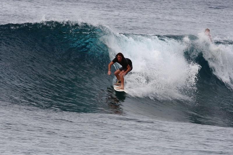 Shaun White Displays His (RAD) Surfing Skills