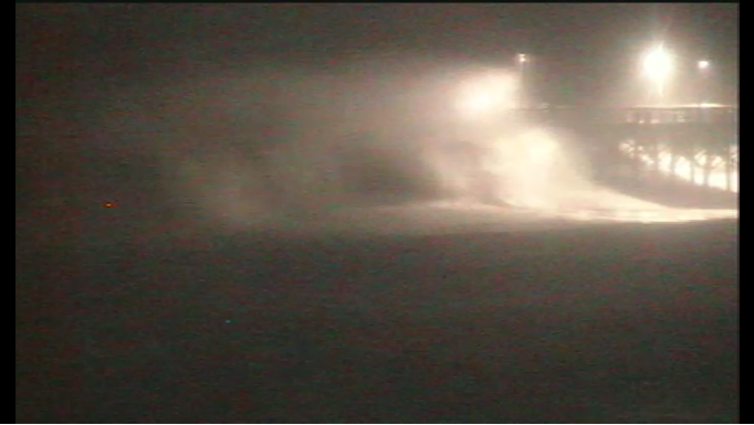 Watch Massive Waves! Hurricane Irene LIVE Feed From Topsail Island NC Camera Right NOW!