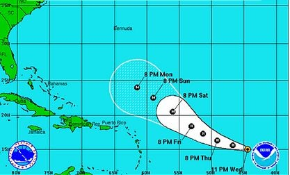 Update: Hurricane Katia Expected To Reach Category 2 by The Weekend; Path Still Not Clear #SurfReport