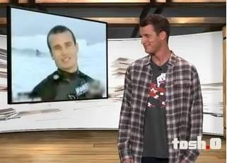 Tosh.0 surfer interview