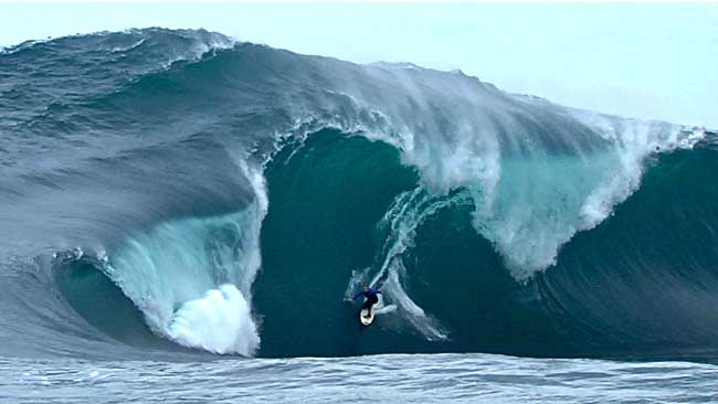 PHOTOS: South West surf produces monster rides for Big Wave competition #SurfReport