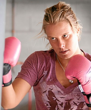 Surfer Girl Paige Hareb To Turn Pro Fighter? @paigehareb