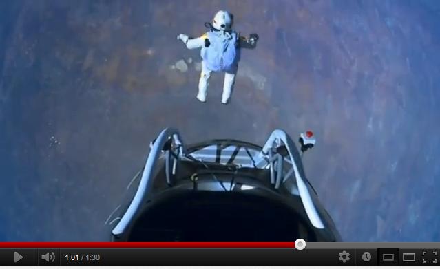 VIDEO: Felix Baumgartner's supersonic freefall from 128k' – Mission Highlights