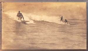 Photo The Surf Riders of Hawaii by A.R. Gurrey Jr