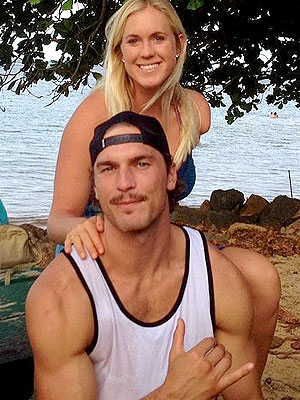 Bethany Hamilton and her fiancé Adam
