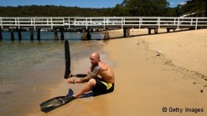 paul de gelder into the world Paul de gelder knows exactly what it's like to come under attack from one of the sea's most deadly predators it was only six years ago when mr de gelder became the first person to be attacked by.