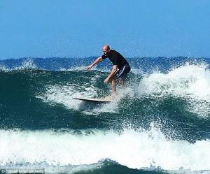 Jason Statham Surfing 2