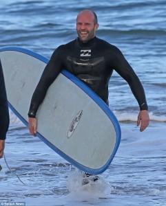 Jason Statham surfing 10