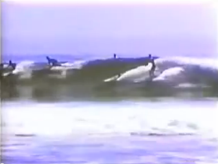 rare surfing footage