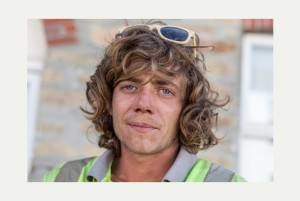 Leyton Gritt, who scaled a 180 foot cliff to reach safety after getting into trouble while surfing in Perranporth. Ref:TRJJ20140527B-001_C